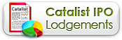 Catalist IPO Lodgements